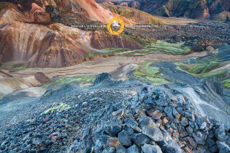 Formations volcanique du Landmannalaugar Islande